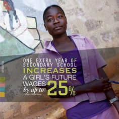 Education is one of the best ways to alleviate poverty around the world! Supporting education can mean supporting a woman's future! #womanrights #education #givinspiration #change