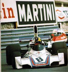 Carlos Pace, Brabham BT44B Monaco, 1975.