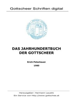 das jahrhundertbuch der gottscheer - Universität Klagenfurt; a book about Gottschee, where my Mom is from. She gave a copy each to me, my brother, and sister, to remember where she came from.