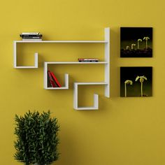 Bean Wall Shelf