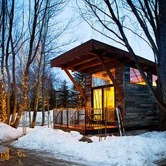 Fireside Resort, Wilson, WY < Best Cabins for Getaways - Sunset.com