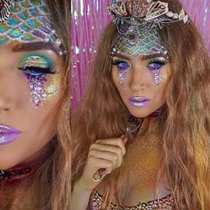 20 Unique Mermaid Makeup Looks For Halloween | Gurl.com