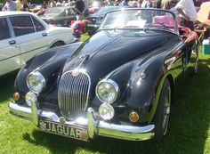 I'd love this as greatest gift!-1958 Jaguar XK150 at the 2008 Hudson British Car Show