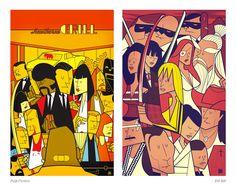 Movie Illustration Posters by Ale Giorgini | Downgraf