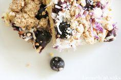 Blueberry Coconut Bars - Gluten Free recipe