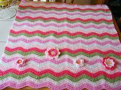 Baby ripple crochet pink ~ Color inspiration
