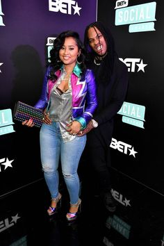 """Tammy Rivera Hosts """"Silent"""" Album Listening Party With Da Brat - Dr Wong - Emporium of Tings. Black Love Couples, Cute Love Couple, Cute Couples, Couple Outfits, Family Outfits, Night Outfits, Style Fashion, Fashion Beauty, Fashion Outfits"""