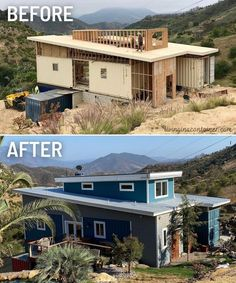 Cargo Container Homes, Shipping Container House Plans, Building A Container Home, Container Buildings, Container Architecture, Container House Design, Tiny House Design, Converted Shipping Containers, California Living