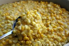 Just like my Mommas Recipe! Pretty much heaven on your plate. One of my favorite things to make. - Southern Skillet Corn