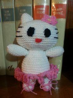 Gatita hello  kitty- bailarina