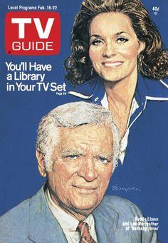 TV Guide_Feb 16..'Barnaby Jones'...Buddy Ebsen & Lee Meriweather