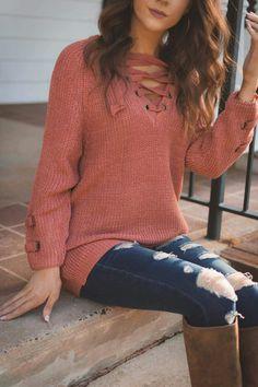 Such a cute sweater!