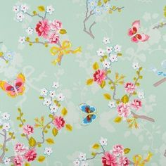 Eijffinger Pip Studio wallpaper Chinese Rose mint