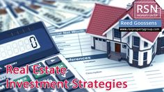 Read top 3 real estate investment strategies before investing in US real estate. Contact Reed Goossens to know more strategies on real estate investment properties. #realestateinvestmentproperties  #realestateinvestment