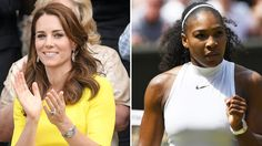 Kate Middleton Hits Snapchat: Watch Her Pose for Serena Williams at Wimbledon