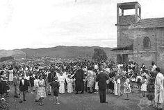 1954 - Paróquia Nossa Senhora do Loreto no bairro de Vila Medeiros.