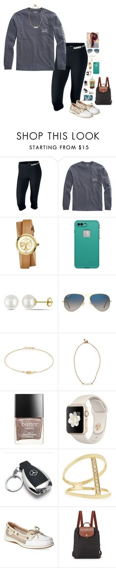 """Black Friday Shopping!"" by lrsoccergal35 ❤ liked on Polyvore featuring NIKE, Vineyard Vines, Tory Burch, LifeProof, Miadora, Ray-Ban, Jennifer Meyer Jewelry, Lead, Butter London and Mercedes-Benz"