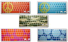 STICARS keyboard covers for Mac