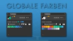 #05 Quicktips – Global colorsIn this tutorial I will show you how to work with global colors in Affinity Designer. At the beginning of the Quicktips I show you the basic function of global colors and then I demonstrate the practical meaning (7:28) by an example.