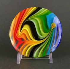 Fused glass art - JLS Glass Studio