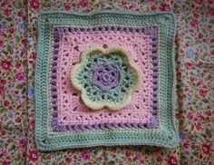 "Ravelry: 08needleworker's 2013 BAMCAL February 12"" Filler Square"