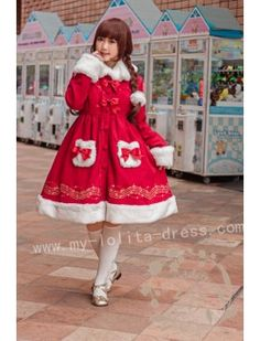 Sweet Stars and Music Notes Embroidery Long Lolita Coat