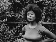 """""""Womanist is to feminist as purple is to lavender"""" – Alice Walker. Alice Walker, a poet and activist, who is mostly known for her award-winning book The Color Purple, coined the term Womanist in h… Alice Walker, Vintage Black Glamour, Vintage Style, Award Winning Books, Girls Be Like, Human Rights, Black History, Short Stories, Black Women"""