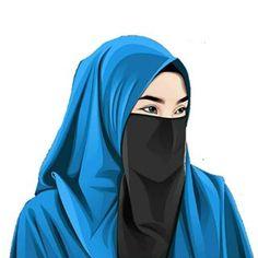 Arab Girls Hijab, Girl Hijab, Muslim Girls, Muslim Women, Anime Muslim, Muslim Hijab, Hijab Cartoon, Islamic Girl, Cartoon Wallpaper