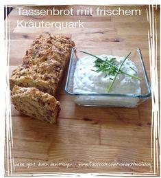 Tassenbrot mit frischem Kräuterquark - Sandras Kochblog
