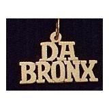 """14K Gold """"Da Bronx"""" Charm"""
