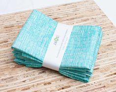 Eco-Friendly Organic Large Cloth Napkins - Set of 4 - (N535) on Etsy, $18.00