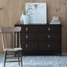 Niche 6-Drawer Dresser - Chocolate   west elm