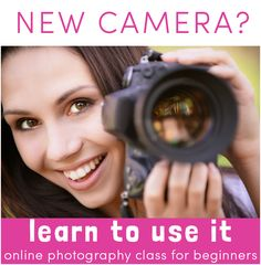 Photography classes for moms. Online and easy way to learn how to take better pictures of your kids and family. Great if you want better photos for your blog