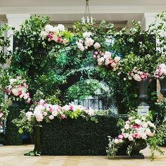 clever use of a photo-printed backdrop alongside real florals! Sweetheart Table, Seattle Wedding, Flower Wall, Wedding Inspiration, Wedding Ideas, Event Decor, Wedding Designs, Wedding Table, Backdrops