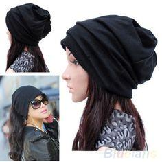 2.19$  Buy now - http://aliq16.shopchina.info/go.php?t=32761431925 - Bluelans Women Men Scarf Fashion Slouch Winter Knit Scarf Hip-Hop Cap Beanie Hat Crochet  #buyininternet