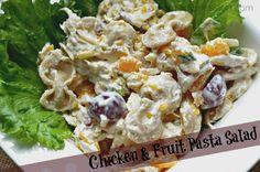 Chicken and Fruit Pasta Salad