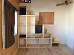 Loft Stairs, House Stairs, Cabin Loft, Cat Shelves, Flex Room, Scale Design, Cat Room, Staircase Design, Cat Furniture