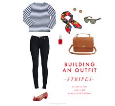 Building an Outfit: Stripes // Curating Style