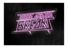 Rad Typography 1.0 by Sean Kane, via Behance