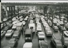 PARIS : EMBOUTEILLAGE PORTE DE VERSAILLES , VOITURES tirage c 1973 | eBay