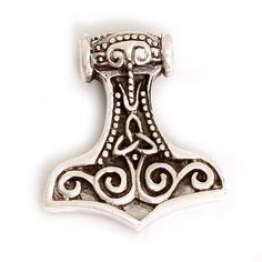 Thors Hammer Silberanhänger – STYLEKINGZZ