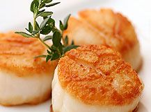 SCALLOPS, one of my favorite seafoods! Digby, Nova Scotia, is home to the world's largest inshore scallop fleet along the eastern seaboard. Do not overcook! Canadian Cuisine, Canadian Recipes, Canadian Food, Fresh Seafood, Fish And Seafood, Fresh Scallops, Canadian Culture, Canada Summer, Atlantic Canada