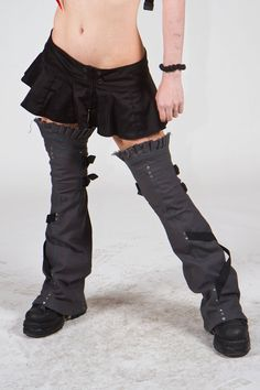 cool leggings - Crisiswear on etsy  steampunk  post apocalyptic