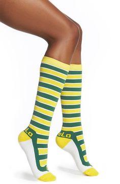 FiveLo 'Green Bay' Stripe Socks