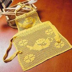 delantales a crochet - Buscar con Google