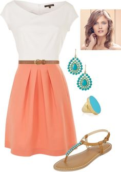 """""""Simple summer beauty"""" by middaymoon on Polyvore"""
