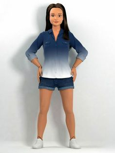 The New Barbie, She's Just Like Us!: With child's size 3 feet and a waist so tiny she couldn't digest anything more significant than a c