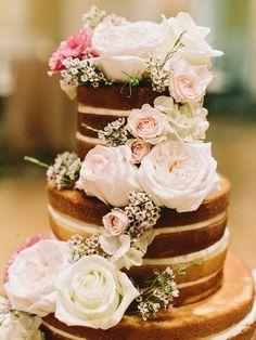 #cake, #rose, #roses Photography: Amy Arrington Photography - www.amyarrington.com