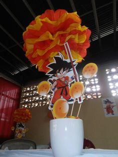 Centro de Mesa Goku