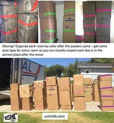 Great idea FOR MOVING !  Repineed by www.movinghelpcenter.com Follow us on Facebook!